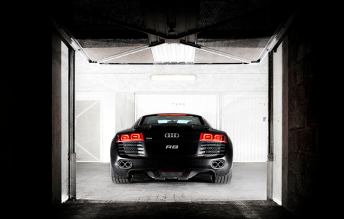 Audi R8. My other true love.