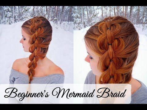 Easy Mermaid Braid Cant Braid No Problem How To Hair