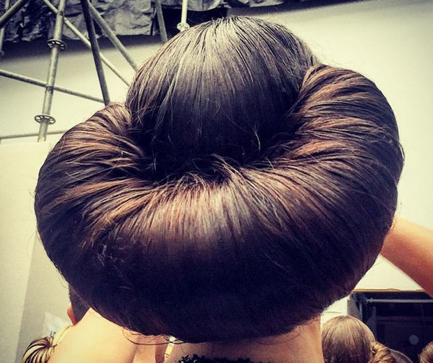 Could Croissant Hair Be The Craziest Style Of Updo - Croissant hairstyle bun