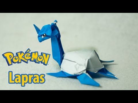 b1ff4aaafc1 POKEMON - Origami Lapras tutorial (Henry Phạm) - YouTube