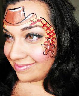 Pin De Oopsie Daisy Face Designs En Facepainting Western En 2021 Pintura Facial Tutoriales De Pintura De La Cara Pintura De Cara Facil