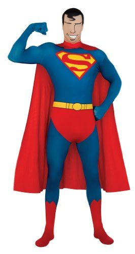 superman+costumes Products   Rubies  Costume Co Dc Comics Adult Superman  Second Skin Super Suit b634d4f732ea