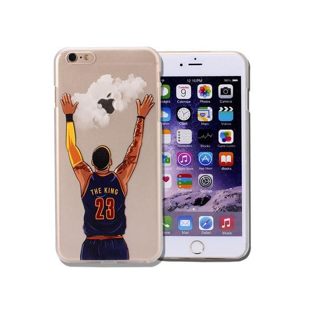 For NBA Basketball Phone Case for iphone 5 5se 6 6s 7 plus Cases Jordan 23 James  Harden Curry Bryant Hard Back Cover NBA Jersey bfe6b6aa0
