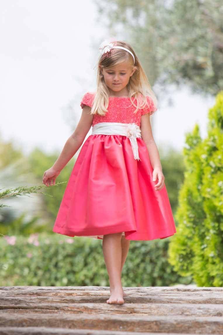 vestidos de fiesta para niñas primavera verano | vestidos aitana ...