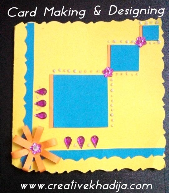 Eid Card Making Ideas Part - 29: Card Making Ideas U0026 Tutorials For Eid. Learn How To Make Eid Cards, Easy  Card Making Ideas For Kids. Enjoy Free Card Making Ideas In My Creative  Collections