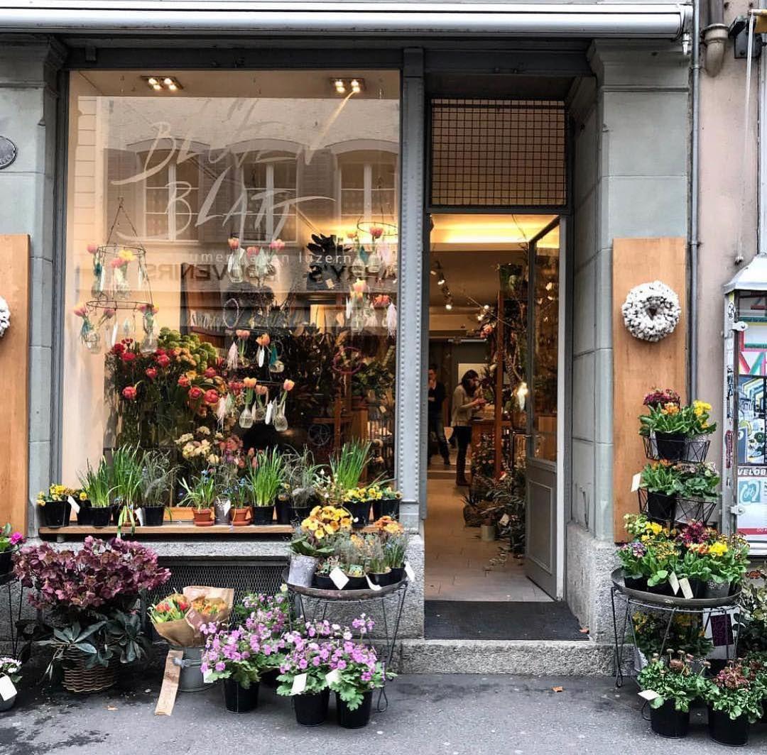 The Flower Shopkeepers On Instagram Pretty Flower Shop Front Blutenblatt Lucerne Knetcrumb Hope I Got The Name Of Flower Shop Pretty Flowers Shop Front