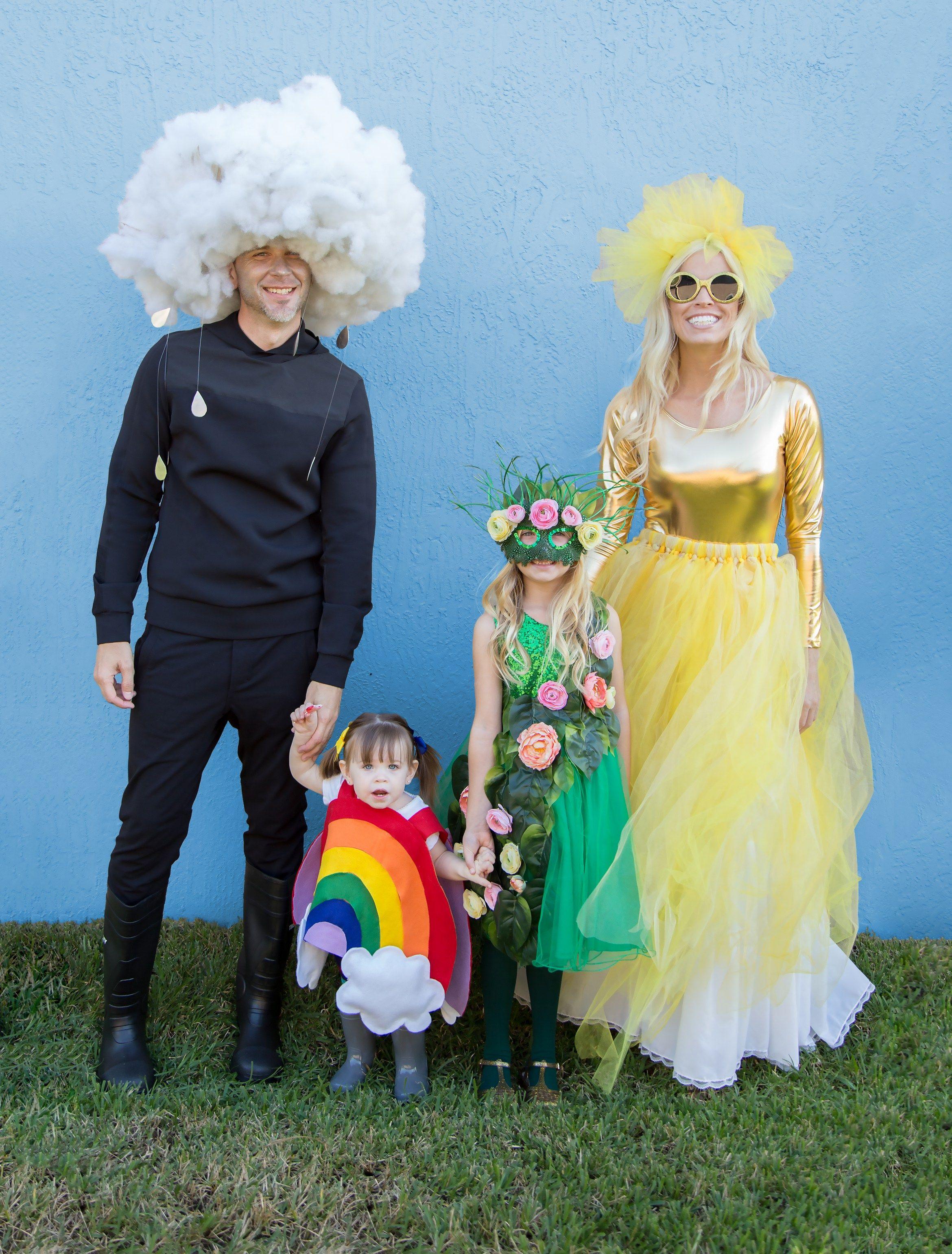Family Halloween Costume Reveal 2017