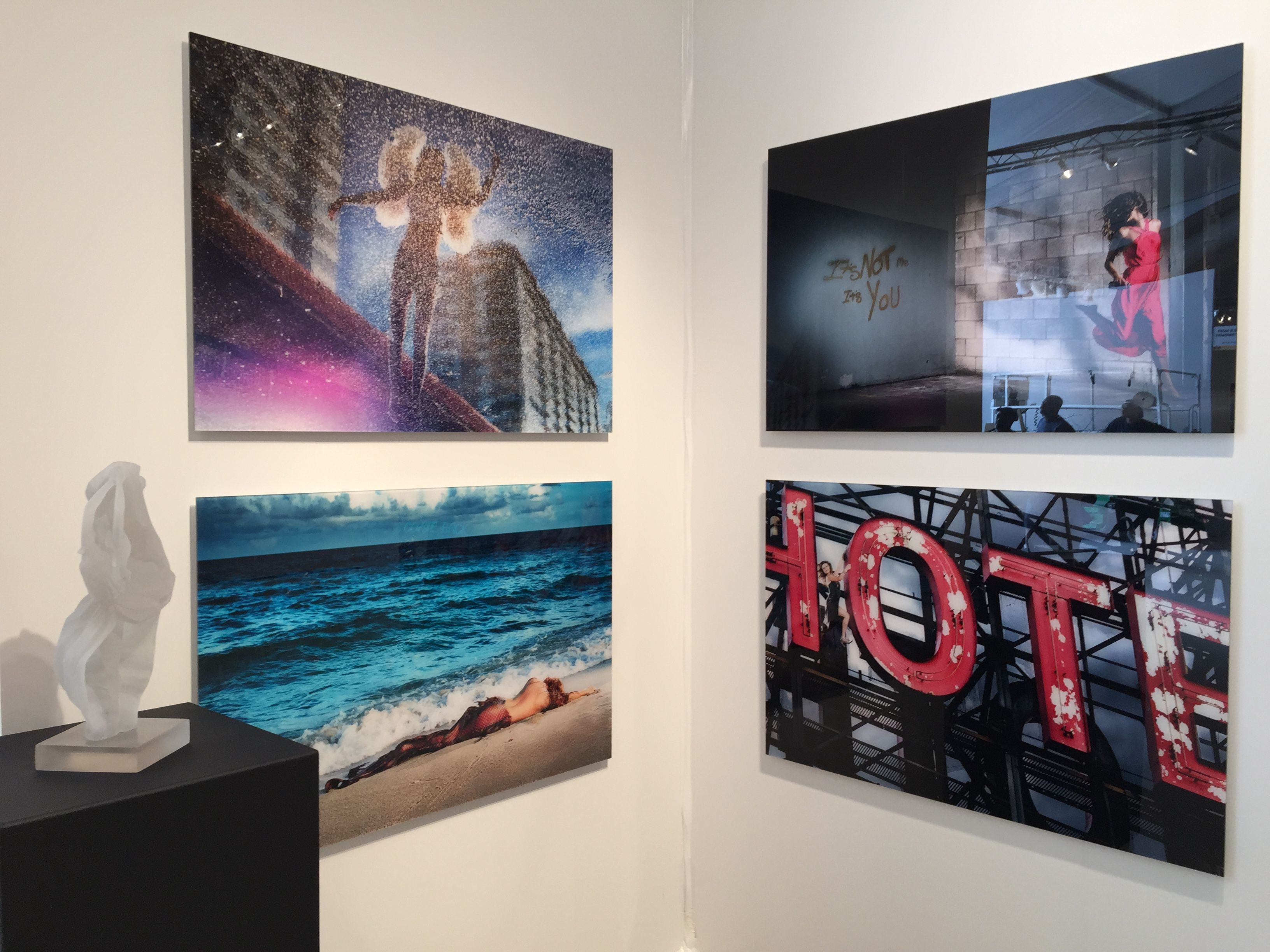 Day 4 at #ArtMiami! Swing by booth A32 to check out new works by notable photographer, #DavidDrebin!