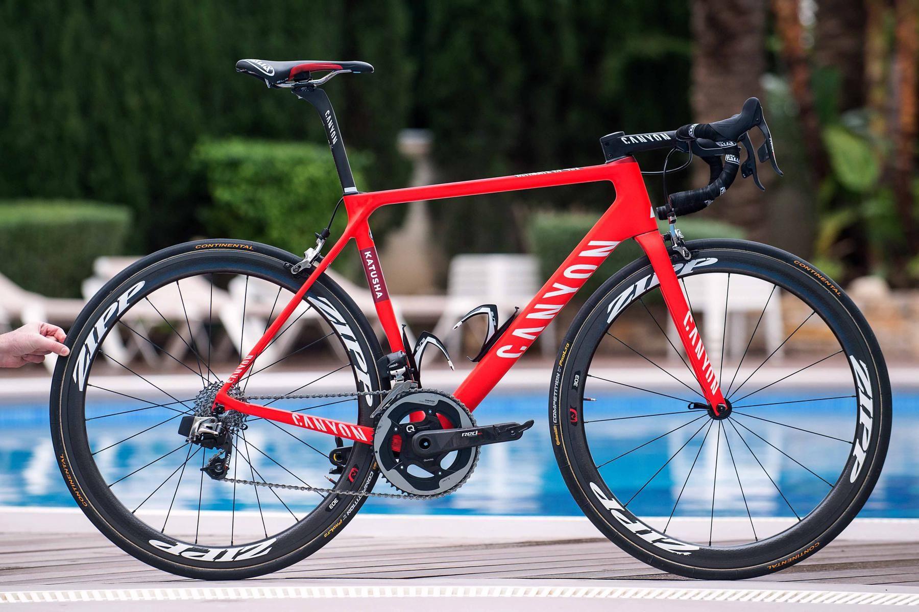Team KATUSHA bikes  Canyon Aeroad and Canyon Ultimate  57c9c4885