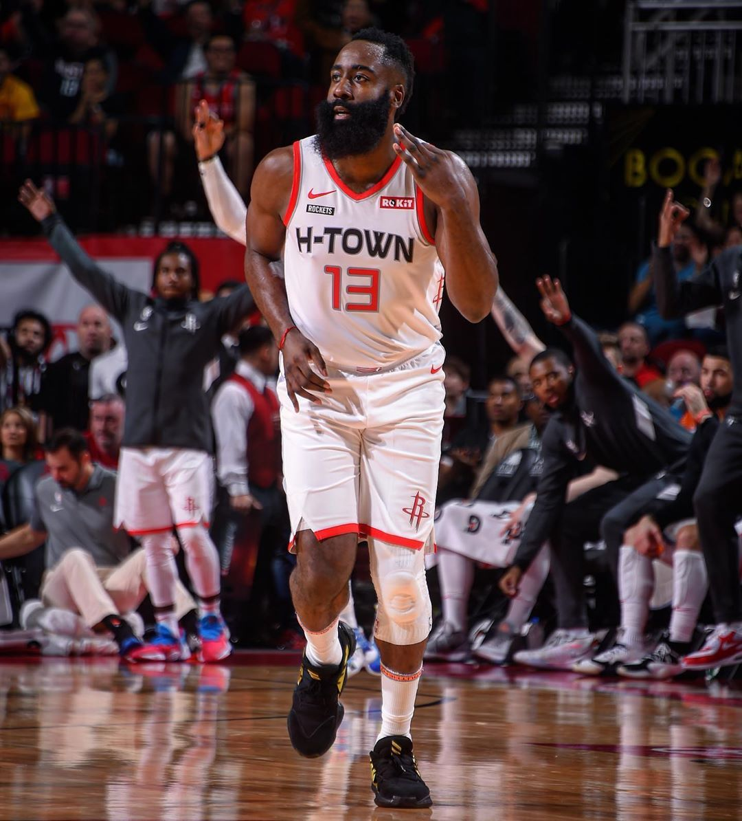 Houston Rockets On Instagram Beard 31 First Half Points Houston Rockets Nba Players Rocket