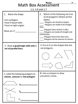 4th Grade Everyday Math Units 1 12 Whole Year Math Box Assessments Everyday Math Math Everyday Mathematics