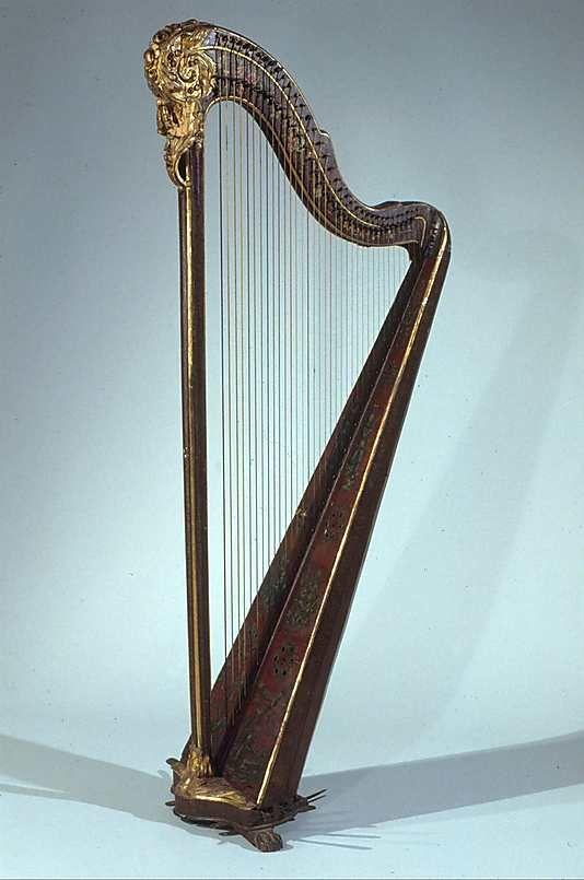 pedal harp 1800 tuscanyagriturismogiratola harps in 2019 harpe art. Black Bedroom Furniture Sets. Home Design Ideas