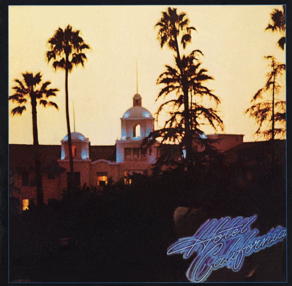 The Eagles Hotel California Album Cover Location With Images