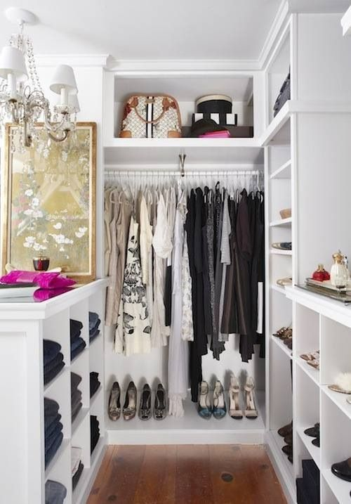 Stunning walk in wardrobe/ walk in closet