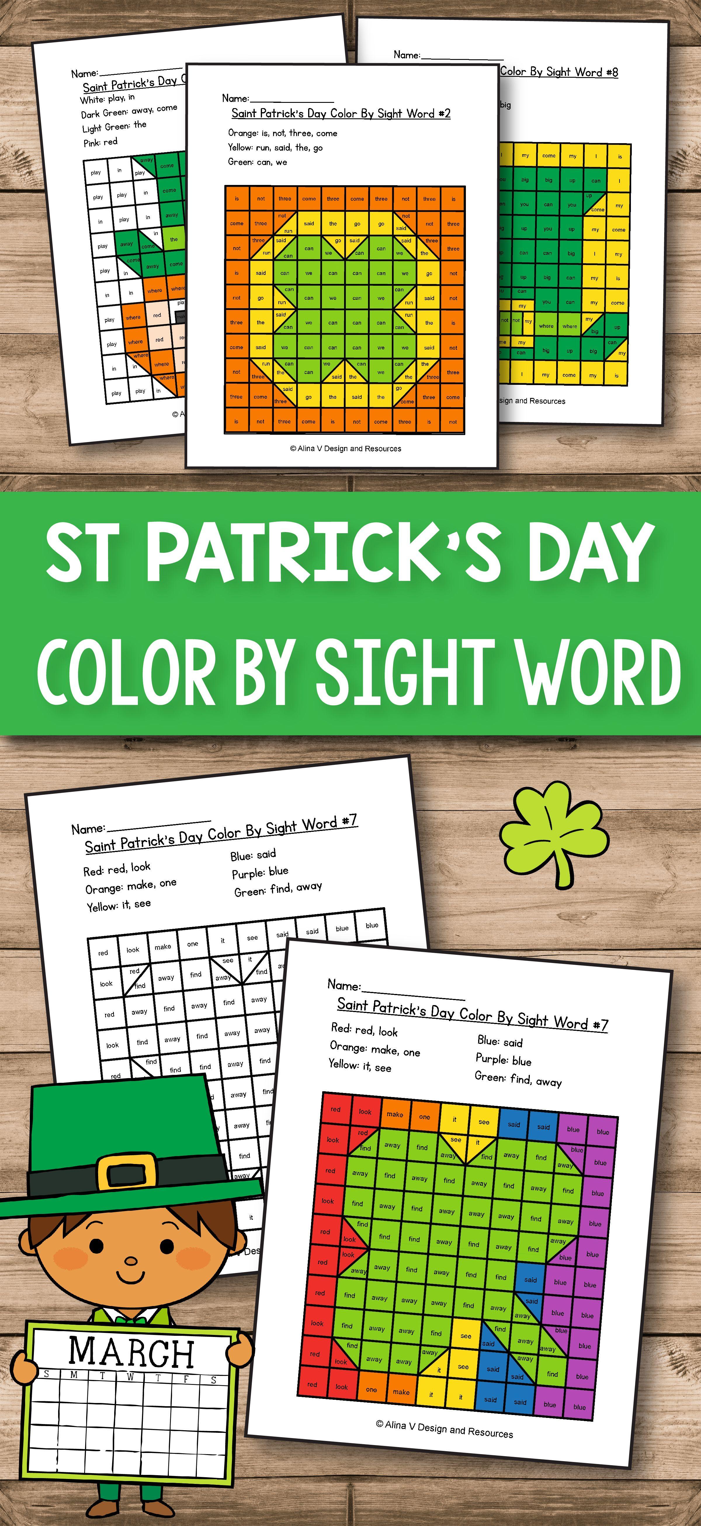 St Patrick S Day Activities For Preschool