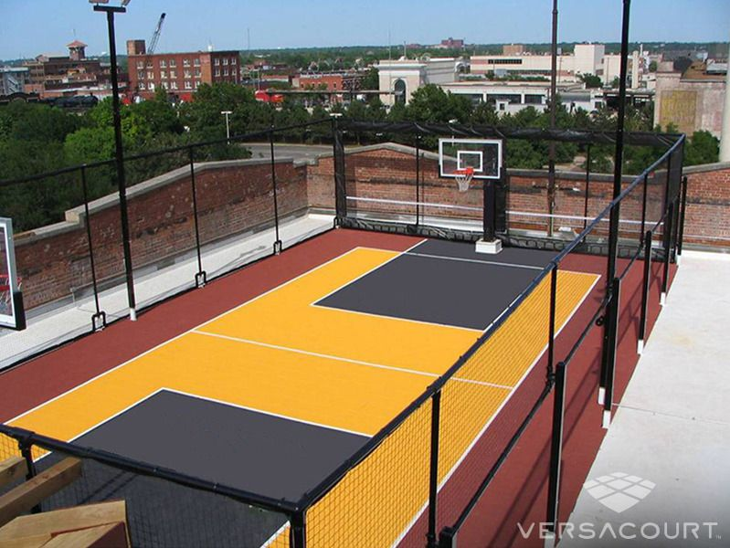 Rooftop Basketball Court Backyard Basketball Basketball Court Backyard Home Basketball Court