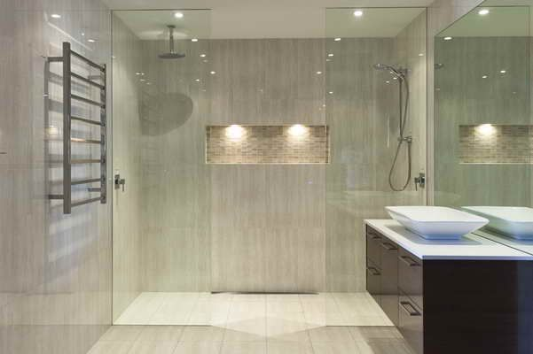 1000+ images about Bathroom tile on Pinterest | San diego, Glass ...