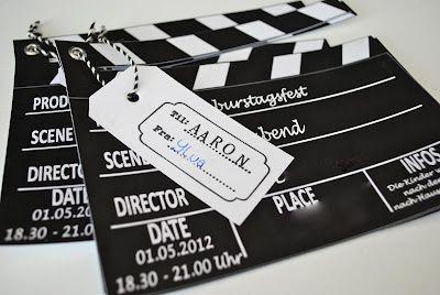 Schön Einladung Filmnacht