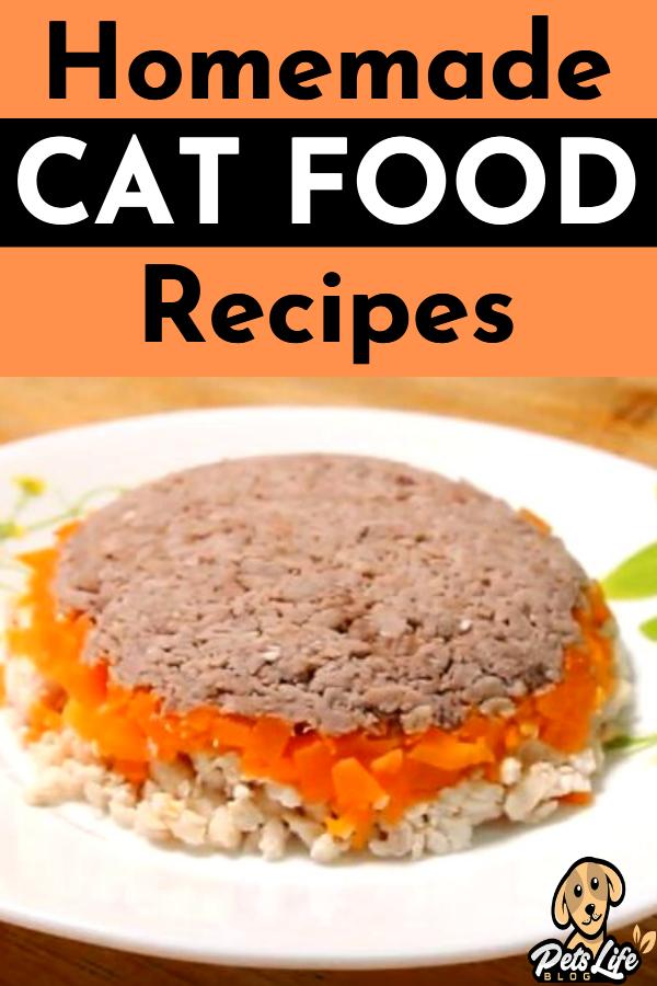 Homemade Cat Food Recipes In 2020 Homemade Cat Food Food Homemade Cat