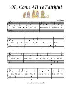 Christmas Songs | Music | Christmas piano sheet music