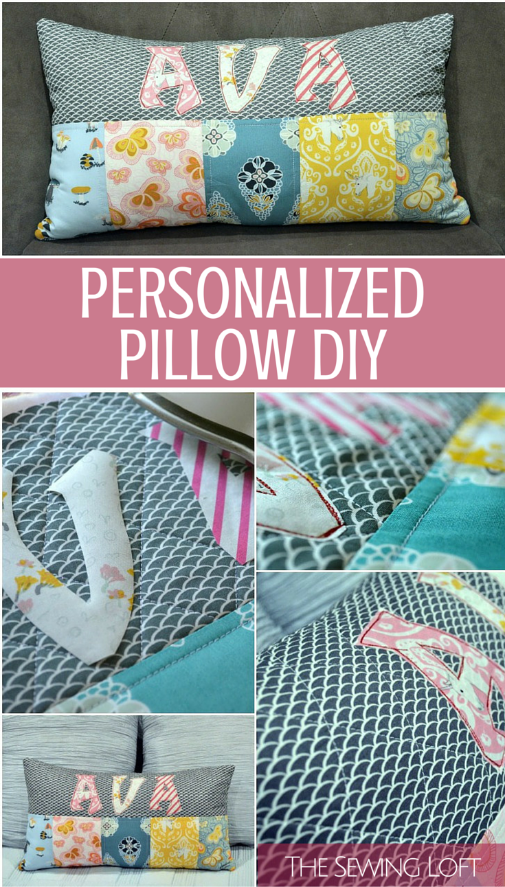 Personalized Pillows Diy Things To Sew Sewing Projects