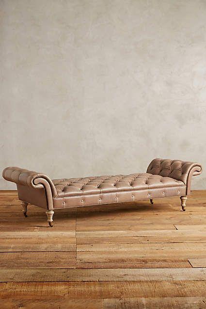 Leather Olivette Daybed - anthropologie.com