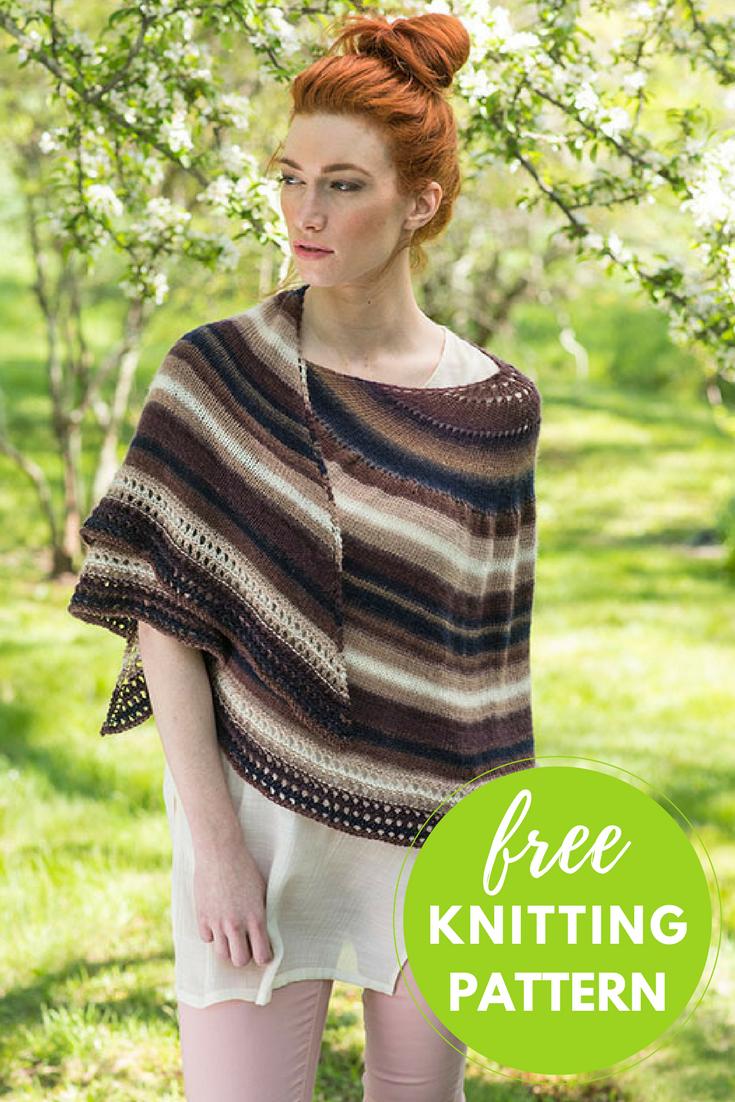 Omega Shawl Free Knitting Pattern | Shawl, Knit patterns and Yarns