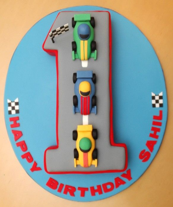 Prime First Birthday Car Cake With Images Cars Birthday Cake Funny Birthday Cards Online Hendilapandamsfinfo