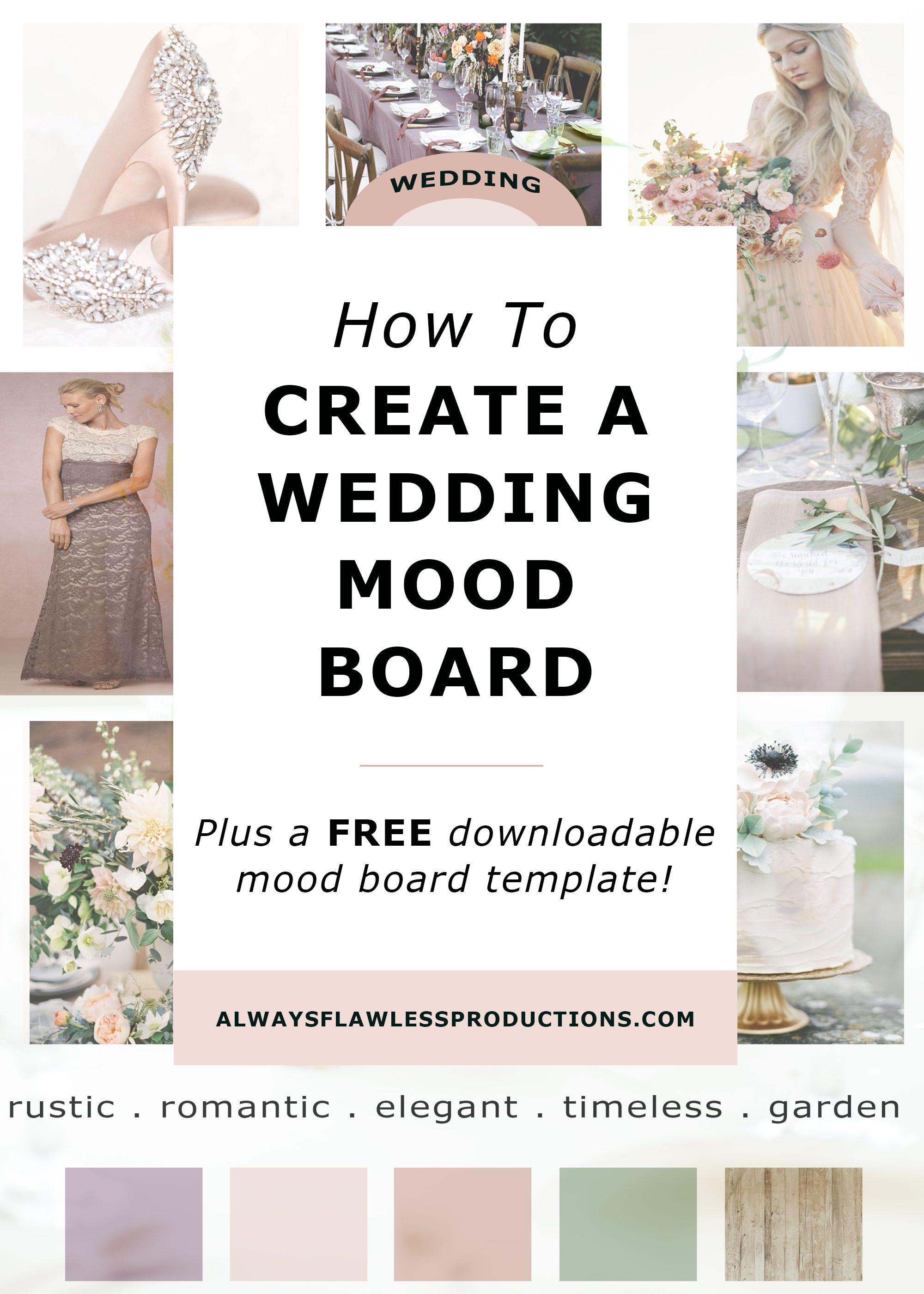 30+ Wedding mood board creator ideas