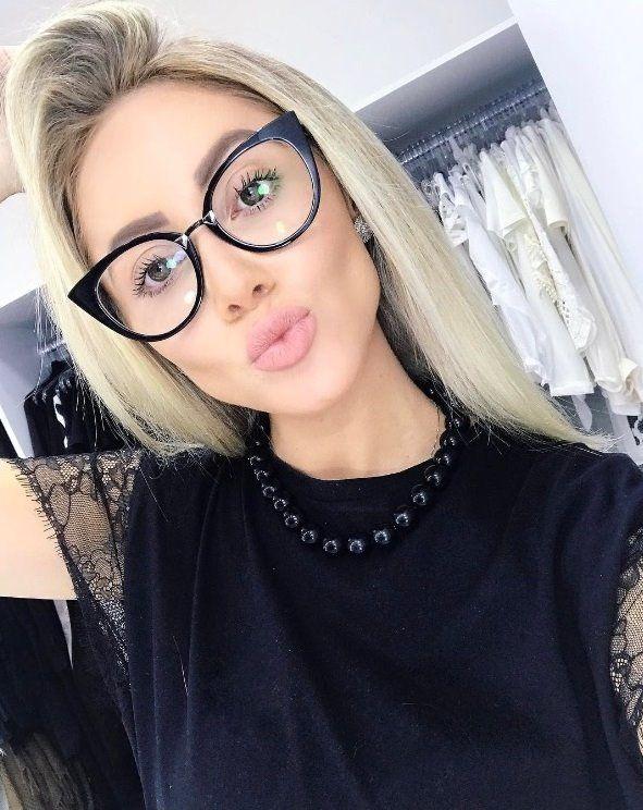 7aec1ba60dbc5 Aquele óculos de grau que você respeita!  oticaswanny  natanadeleon  fendi   fendiorchidea