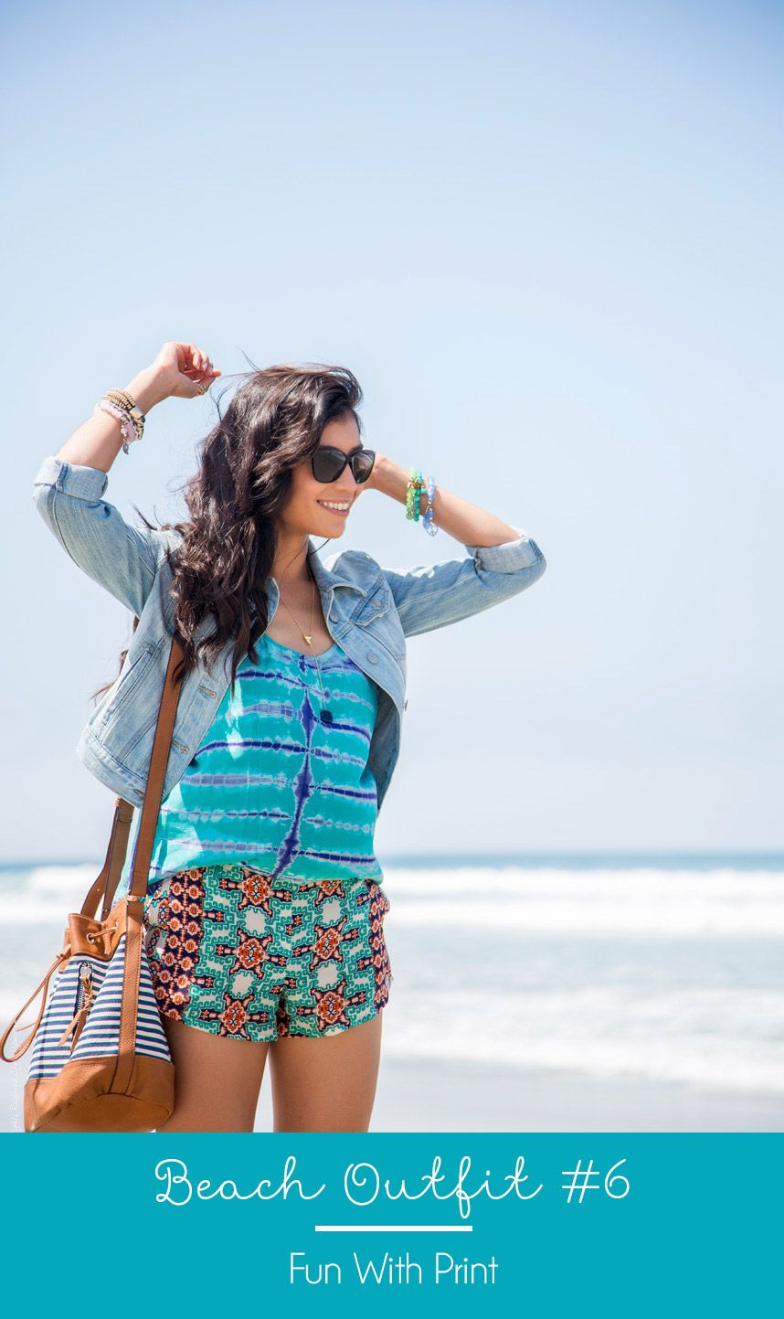 13f65d3676 Cute Outfit for the Beach - Visit Stylishlyme.com to view the other 20 summer  outfits