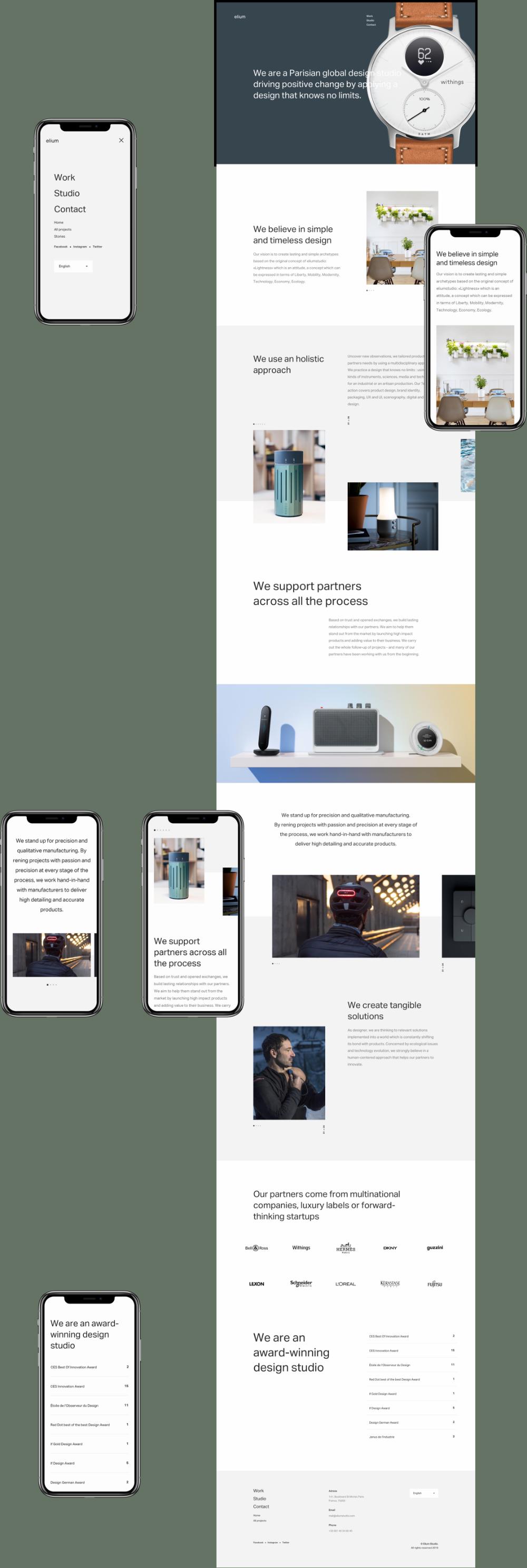 Kevin Lagier Portfolio Freelance Design Direction Minimal Web Design Newsletter Design Layout Website Design