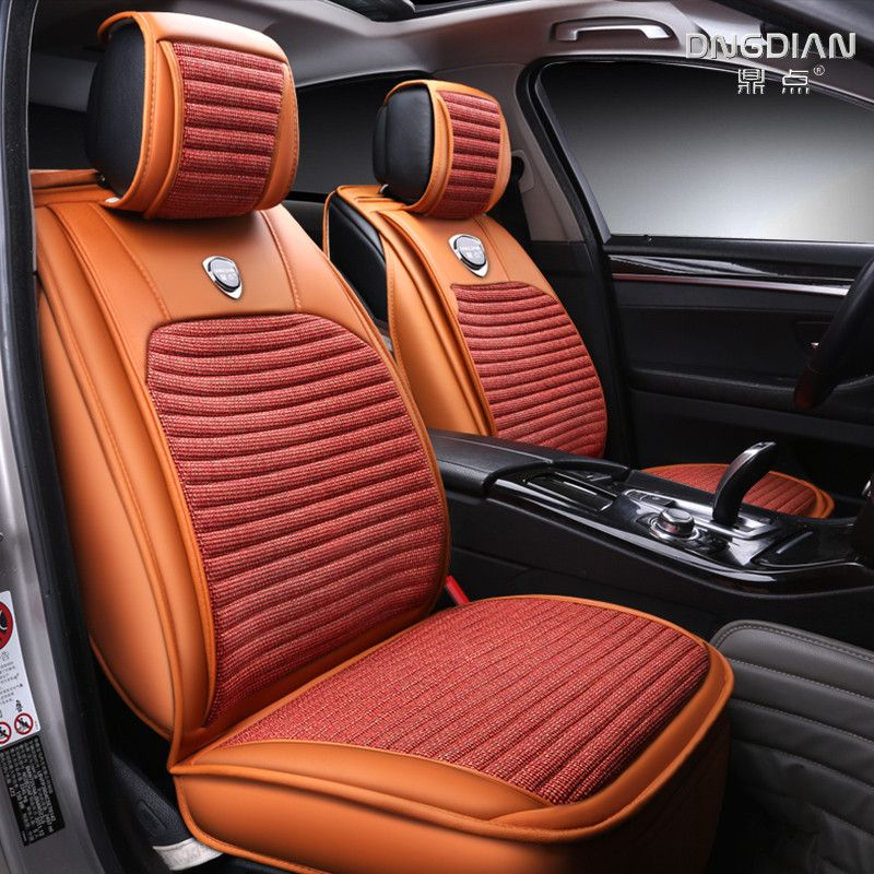 Car Cushion Set Auto Seat Covers Pu Pads For Ferrari Gmc Savana Jaguar Smart Lamborghini Murcielago Gallardo Rolls-royce Phantom Automobiles & Motorcycles Automobiles Seat Covers