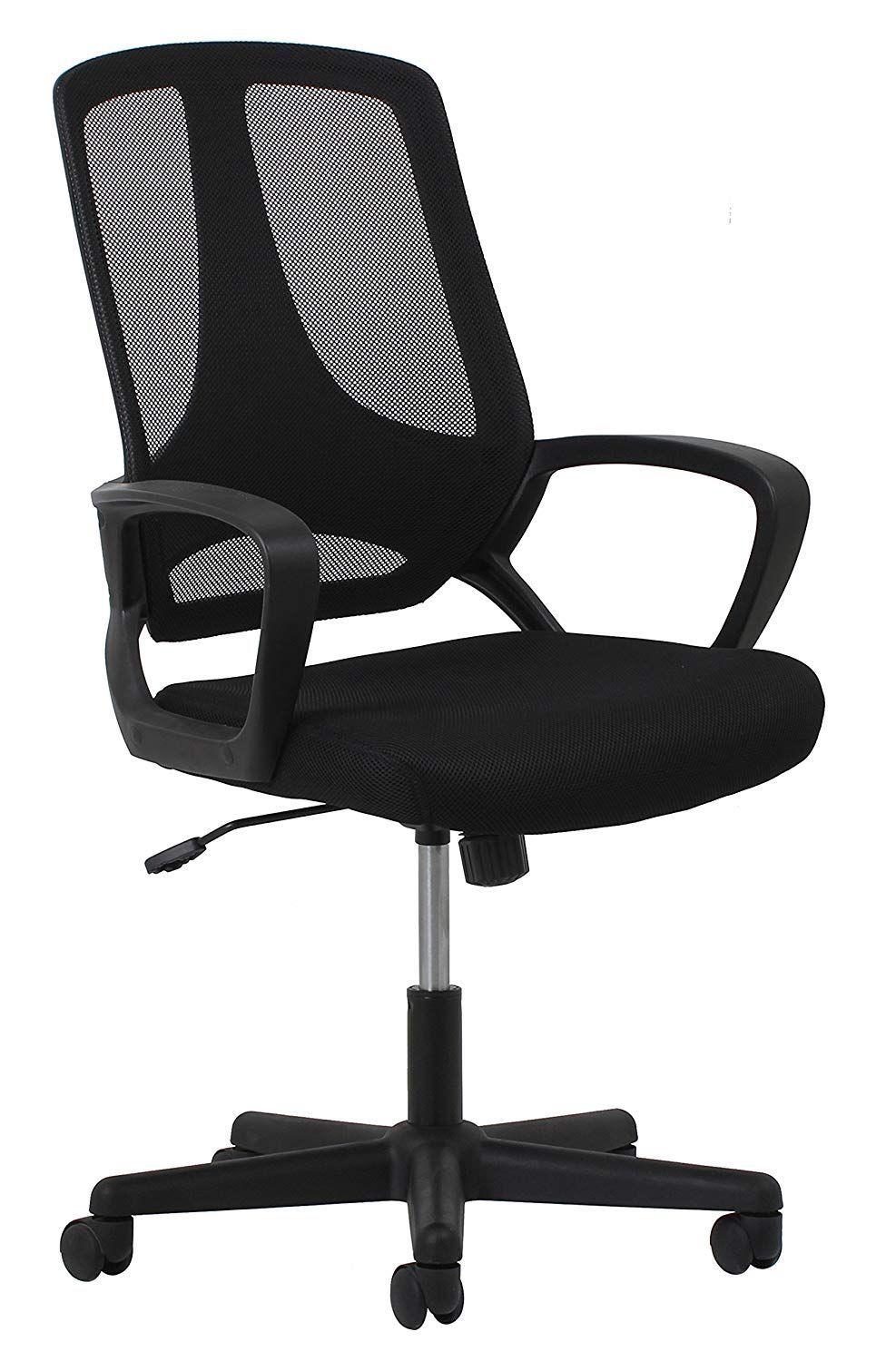 Essentials Swivel Mesh Task Chair with Arms Ergonomic