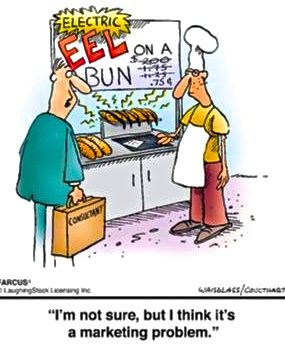 Getting that initial trial could be an issue…:) #Marketing #food #funny