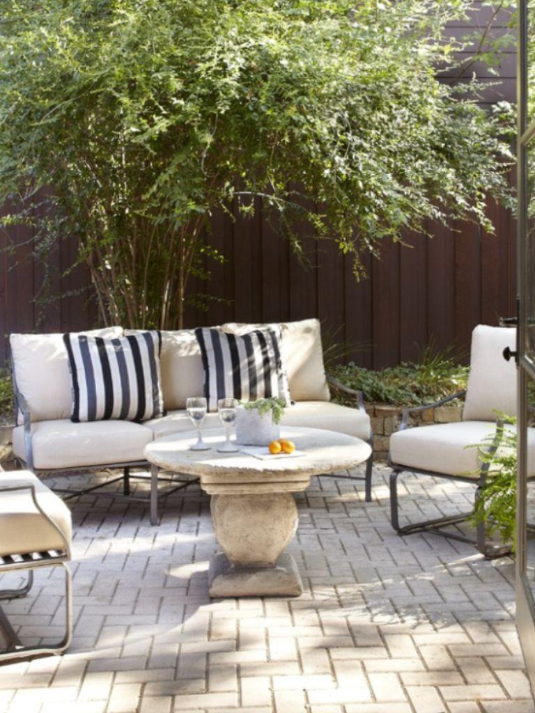 Houzz Com Small Patio Ideas Townhouse Patio Garden Design Patio Inspiration
