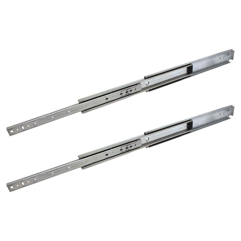 12 24 In Industrial Duty Full Extension Ball Bearing Side Mount Drawer Drawer Slides Side Mount Drawer Slides Heavy Duty Drawer Slides
