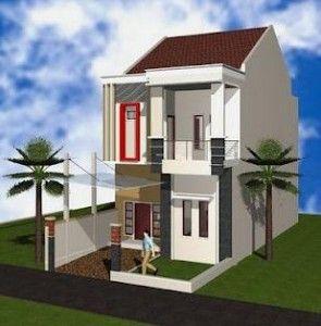 Desain Rumah Minimalis Type 36 2 Lantai Sederhana Tapi Modern Ya