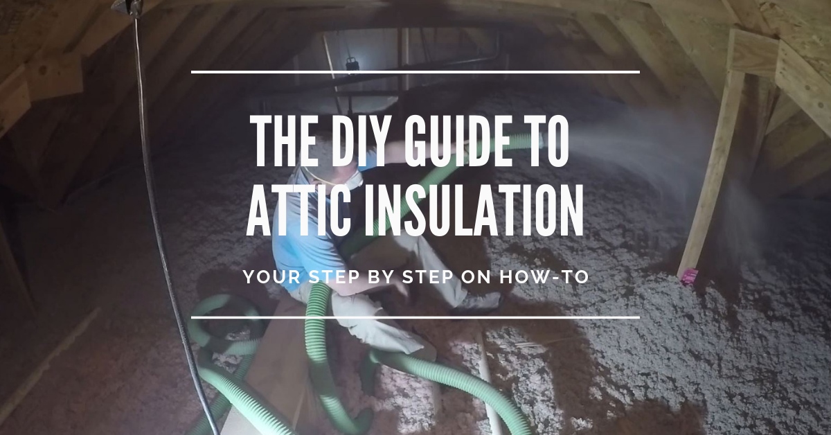 DIY Guide to Blown-In Attic Insulation | Attic insulation ...