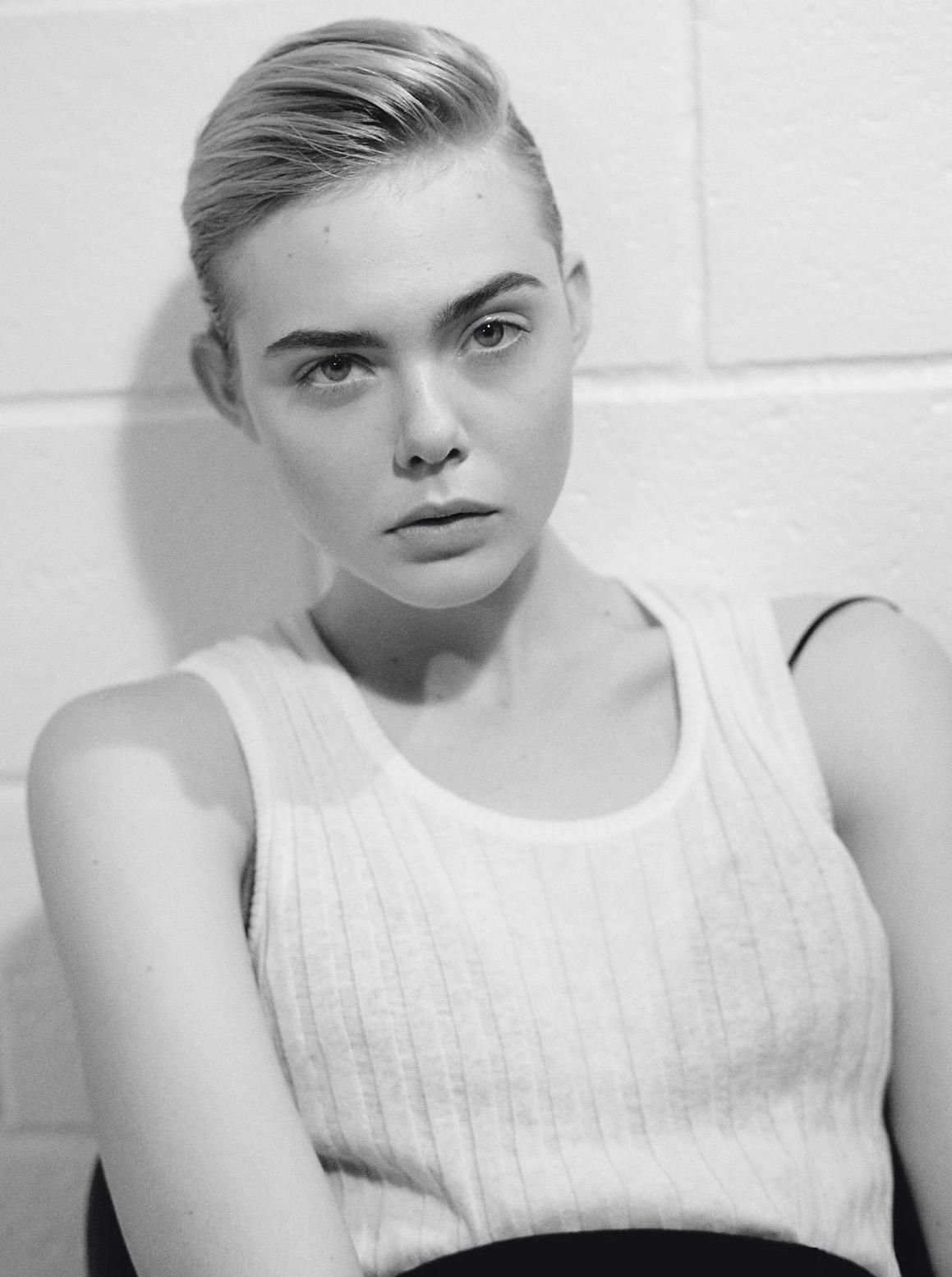Elle Fanning by Collier Schorr for i-D Magazine Fall 2015