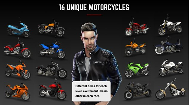 Download Racing Fever Moto Game Modded Free For Android Latest