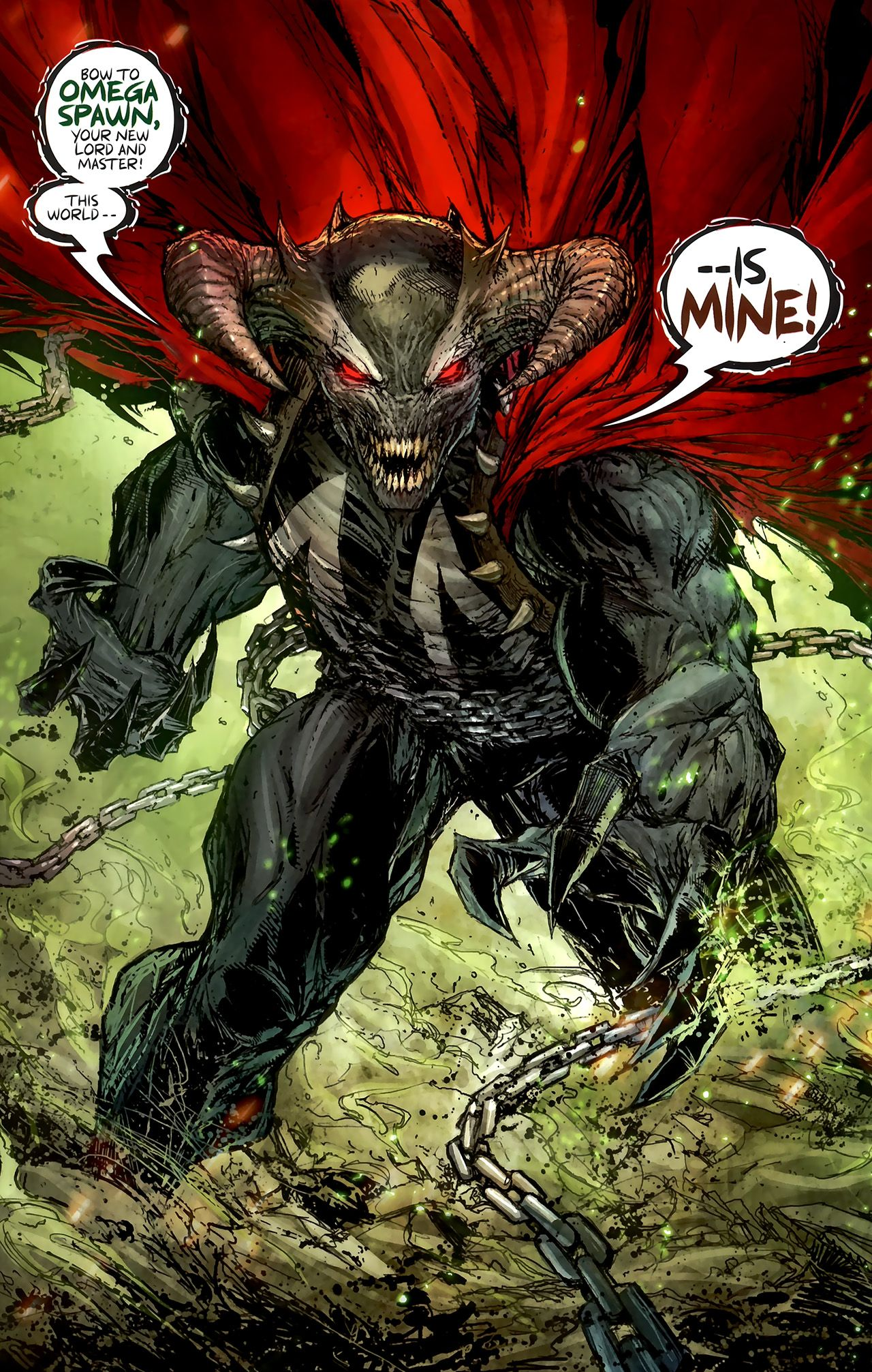 Powerful Hellspawn Omega Spawn