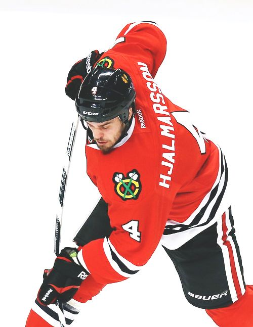 Niklas Hjalmarsson Chicago Blackhawks Blackhawks Hockey Chicago Hockey Chicago Blackhawks
