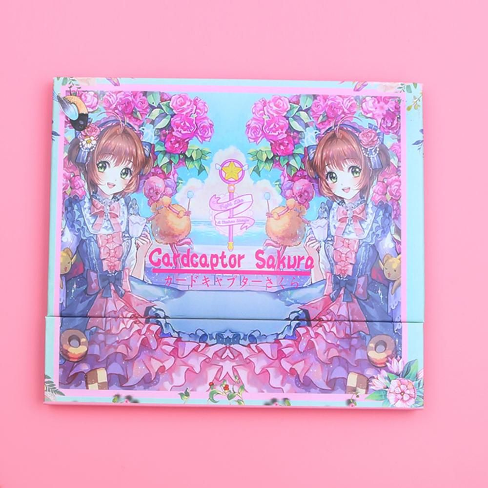 Cardcaptor Sakura Eyeshadow Makeup Palette Kawaii Beauty