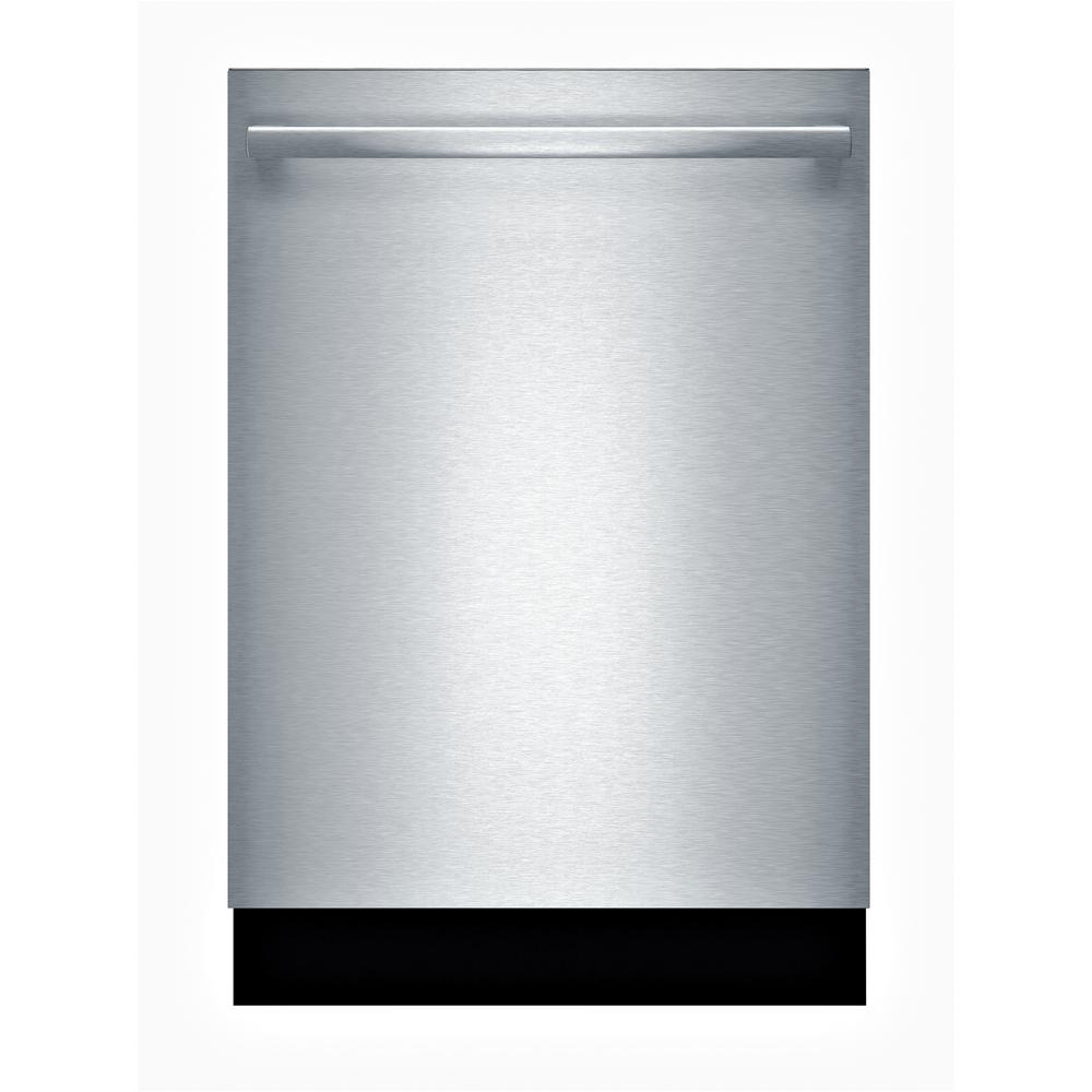 Bosch 100 Series 24 In Stainless Steel Top Control Tall Tub Dishwasher With Hybrid Stainless Steel Tub And 3rd Rack 48dba Shxm4ay55n The Home Depot Built In Dishwasher Steel Tub Bosch Dishwashers
