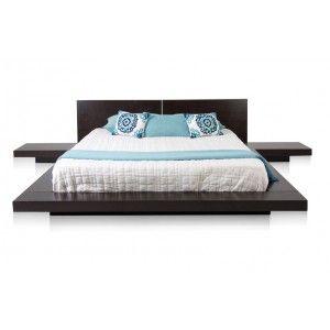 Modern Contemporary Japanese Zen Platform Beds Brown Contemporary Bed Unique Bunk Beds Modern Bedroom