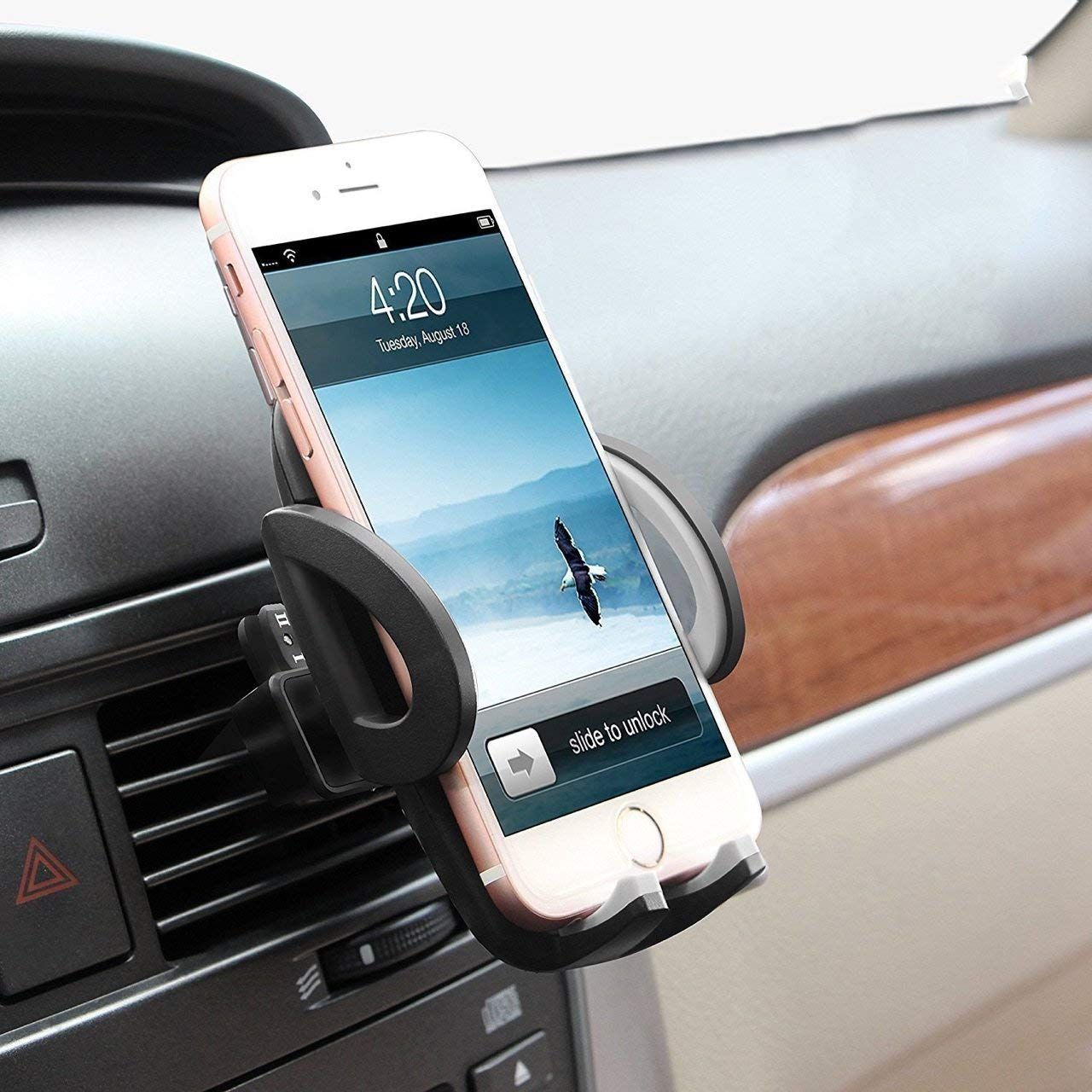 huge selection of ea6b7 11057 Amazon.com: Beam Electronics Universal Smartphone Car Air Vent Mount ...