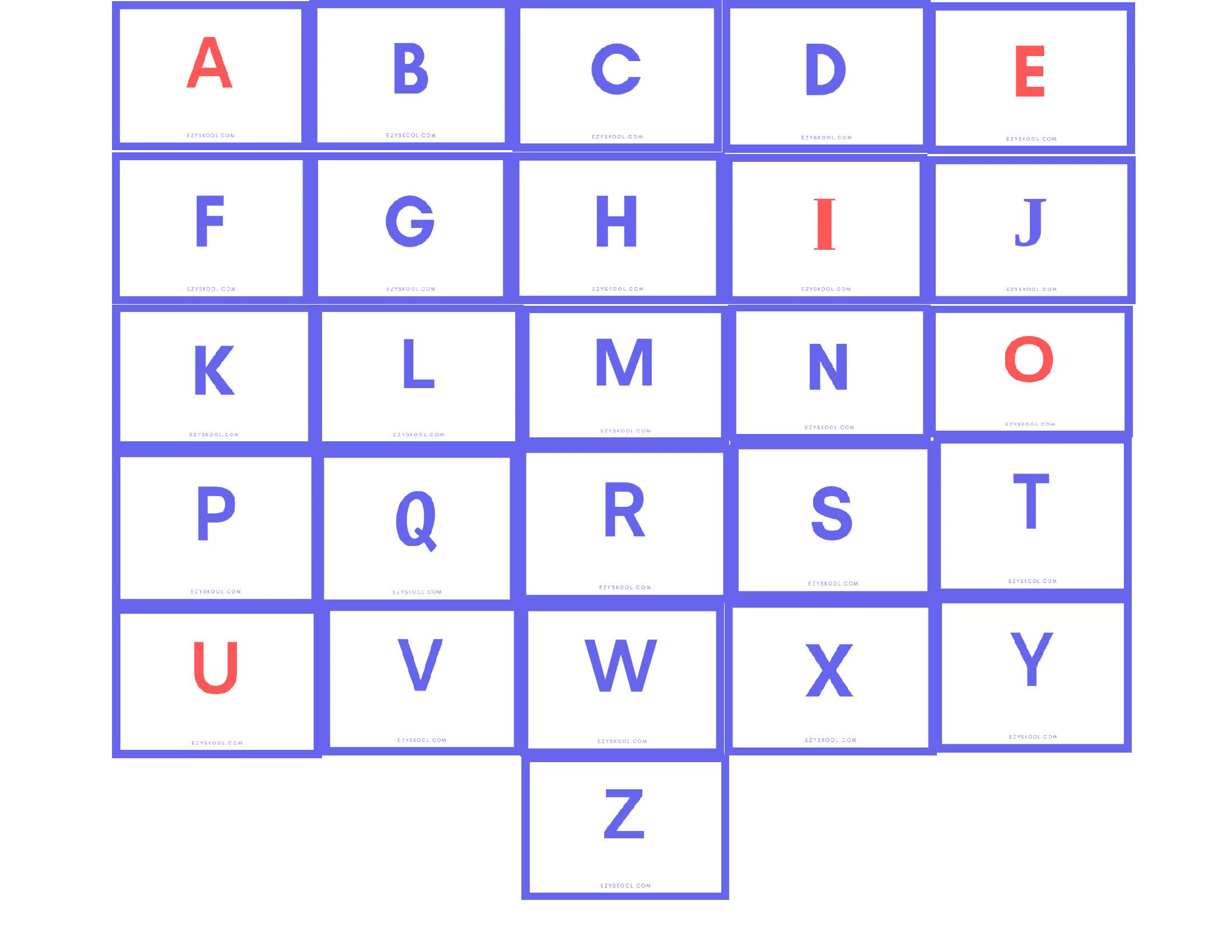 what is vowels and consonants in english