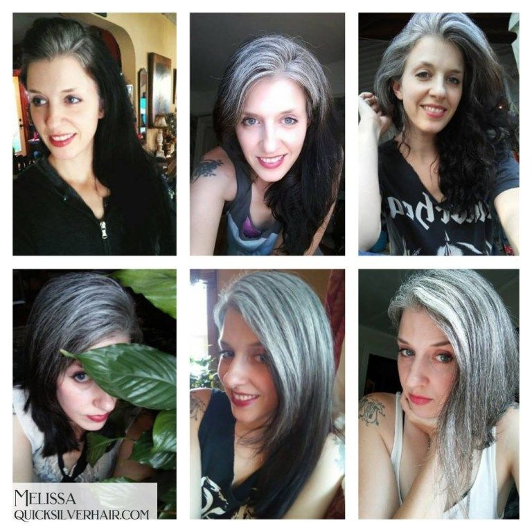 Full Transition to Gray Hair Photos, Videos, and Stories -   12 grey hair Videos ideas