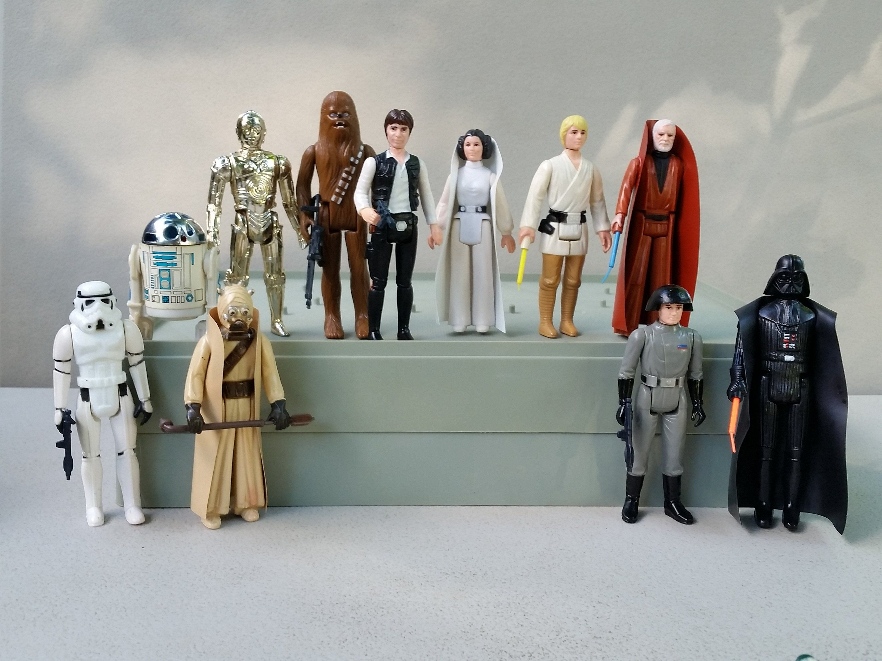 Kenner Star Wars Action Figures The First 12 Kenner Star Wars Action Figures Vintage Star Wars Action Figures Action Figures